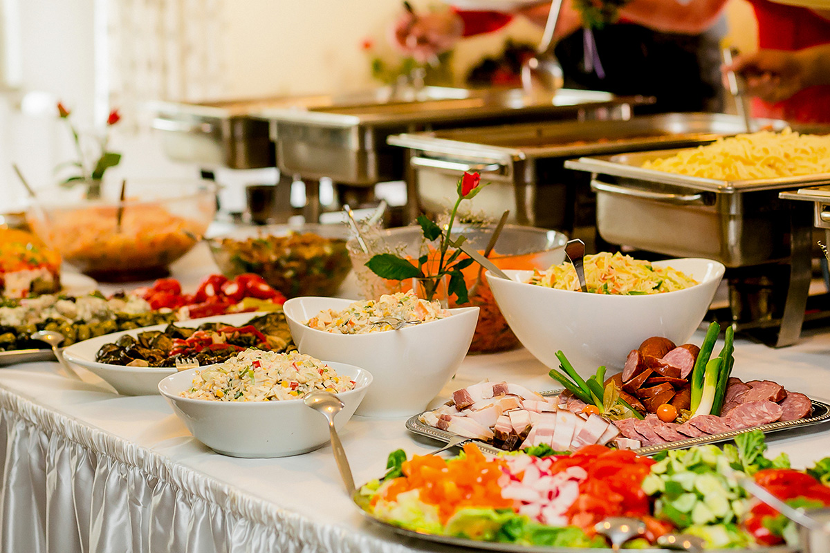 Buffet menu for your event in Mykonos